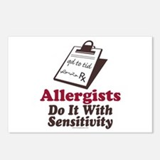 Allergist Immunologist Postcards (Package of 8)