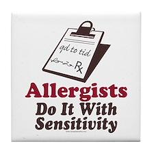 Allergist Immunologist Tile Coaster