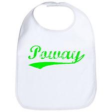 Vintage Poway (Green) Bib