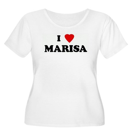 I Love MARISA Women's Plus Size Scoop Neck T-Shirt