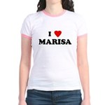 I Love MARISA Jr. Ringer T-Shirt