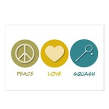 Peace Love Squash Postcards (Package of 8)