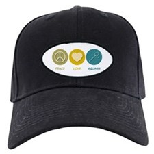 Peace Love Squash Baseball Hat