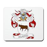 Blasco Family Crest Mousepad