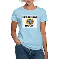 Hedgehogs Rock! Women's Light T-Shirt