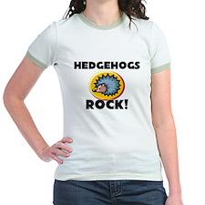 Hedgehogs Rock! Jr. Ringer T-Shirt