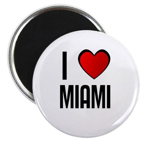 I LOVE MIAMI Magnet