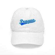 Retro Prague (Blue) Baseball Cap