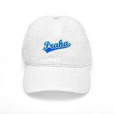 Retro Praha (Blue) Baseball Cap