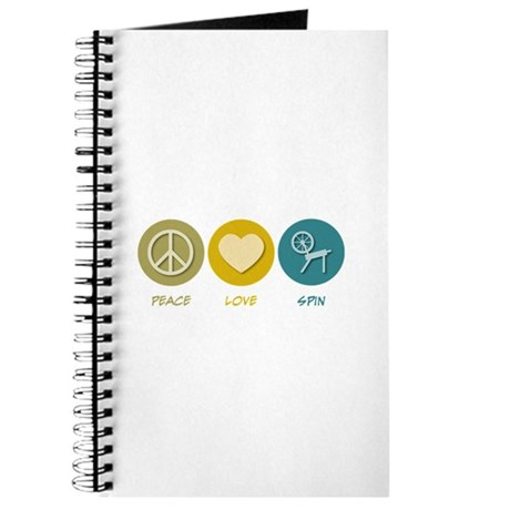 Peace Love Spin Journal