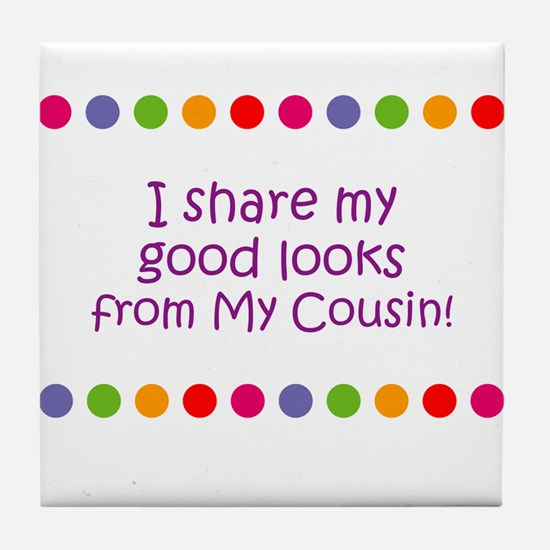 I share my good looks from My Tile Coaster