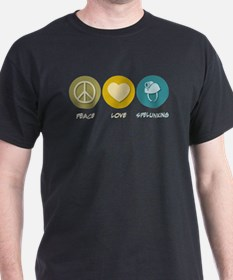 Peace Love Spelunking T-Shirt