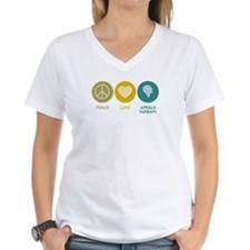 Peace Love Speech Therapy Shirt