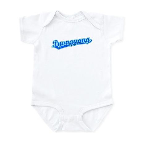 Retro Pyongyang (Blue) Infant Bodysuit