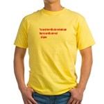 Kind Words Yellow T-Shirt