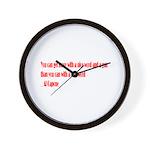 Kind Words Wall Clock