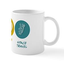 Peace Love Space Travel Mug