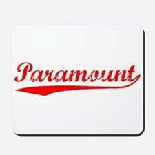 Vintage Paramount (Red) Mousepad