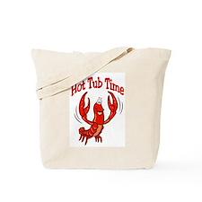 Crawfish Hot Tub Tote Bag