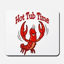 Crawfish Hot Tub Mousepad