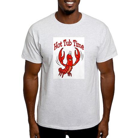 Crawfish Hot Tub Light T-Shirt