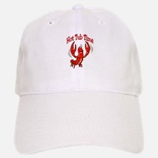 Crawfish Hot Tub Baseball Baseball Cap