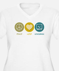 Peace Love Sonograms T-Shirt