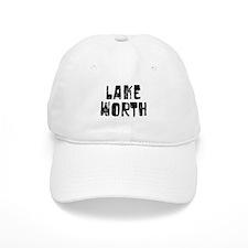 Lake Worth Faded (Black) Baseball Cap
