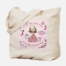 Too many accessories (version Tote Bag