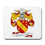 Caballero Family Crest Mousepad