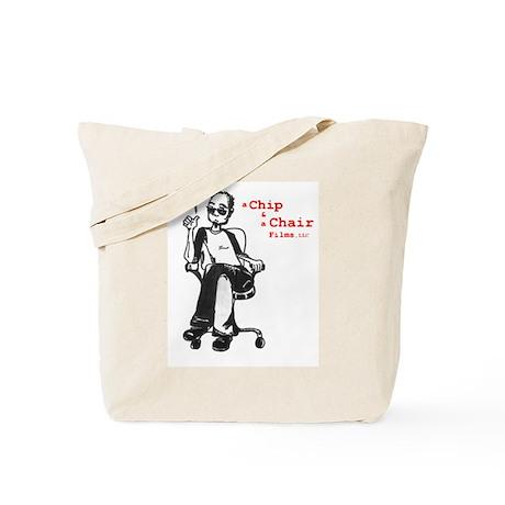A Chip & A Chair Logo Tote Bag