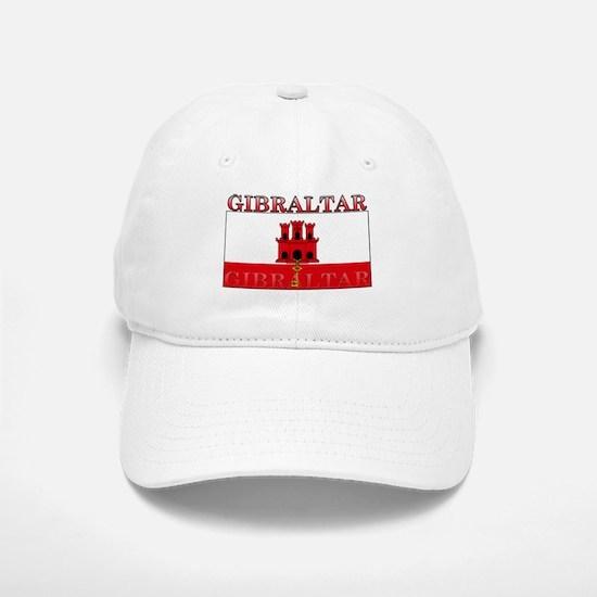Gibraltar Flag Baseball Baseball Cap