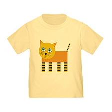 Orange Cat T