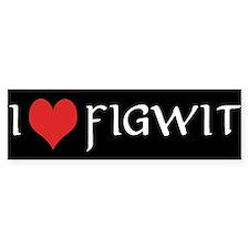 Figwit - Bumper Bumper Sticker