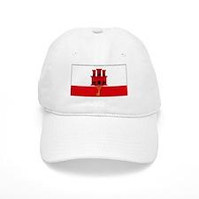 Gibraltar Blank Flag Baseball Cap