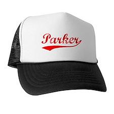 Vintage Parker (Red) Trucker Hat