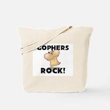Gophers Rock! Tote Bag