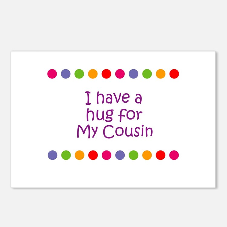 I have a hug for My Cousin Postcards (Package of 8