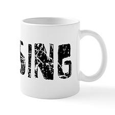 Lansing Faded (Black) Mug