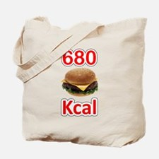 680 Kcal Tote Bag