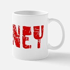 Downey Faded (Red) Mug