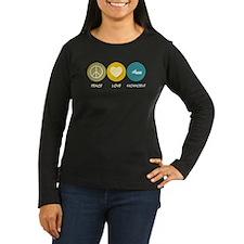 Peace Love Snowmobile T-Shirt