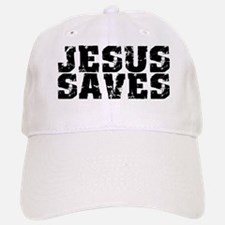 Jesus Saves bk Baseball Baseball Cap