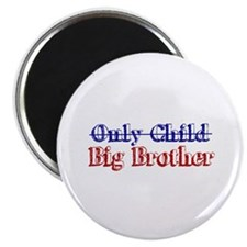 "Only Child New Big Brother 2.25"" Magnet (10 pack)"