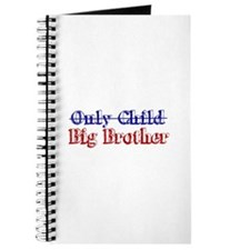 Only Child New Big Brother Journal