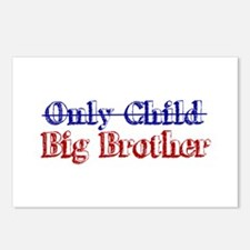 Only Child New Big Brother Postcards (Package of 8