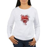 Heart Costa Rica Women's Long Sleeve T-Shirt