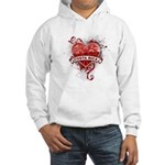 Heart Costa Rica Hooded Sweatshirt