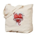 Heart Costa Rica Tote Bag