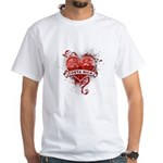 Heart Costa Rica White T-Shirt